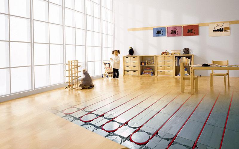 Fußbodenheizungen: Effizient und energiesparend
