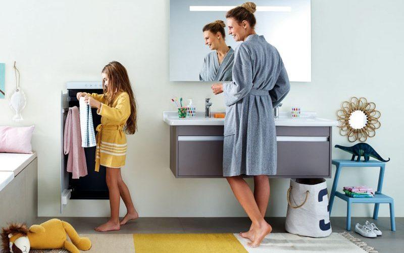 Praktische Design-Heizkörper sorgen im Bad für Ordnung und Wohlgefühl
