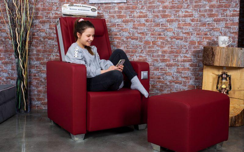 Massagesessel im privaten Bereich